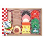 Melissa & Doug Legetøjsmad, Wooden Sandwich Making Set