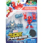 The Avengers Super Hero Masers, Micro 2 Pack, Spiderman VS Marvels Rhino