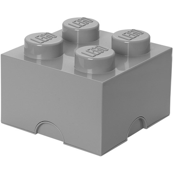 LEGO Storage LEGO, Opbevaring 4, Design Collection, Stone Grey