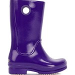 Crocs Wellie Patent Rain Boot, Ultraviolet