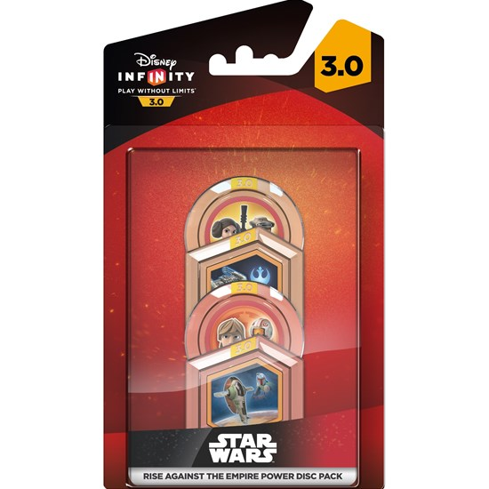 Disney Infinity Disney Infinity 3.0, Rise Against the Empire, Power Discs, 4-pack