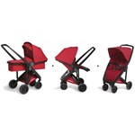 Greentom Upp, Kombivogn & Klapvogn, Black/Red