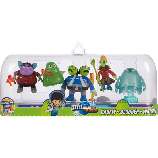 Miles From Tomorrowland Figures, Aliens, 5-pack