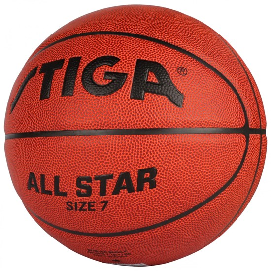 STIGA Basketball bold, All Star, Str. 7, Orange