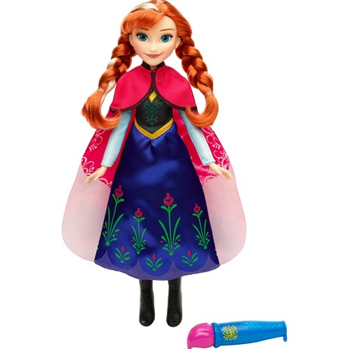 Disney Frozen Color Change Magical Stoy Cape, Fashion Doll, Anna