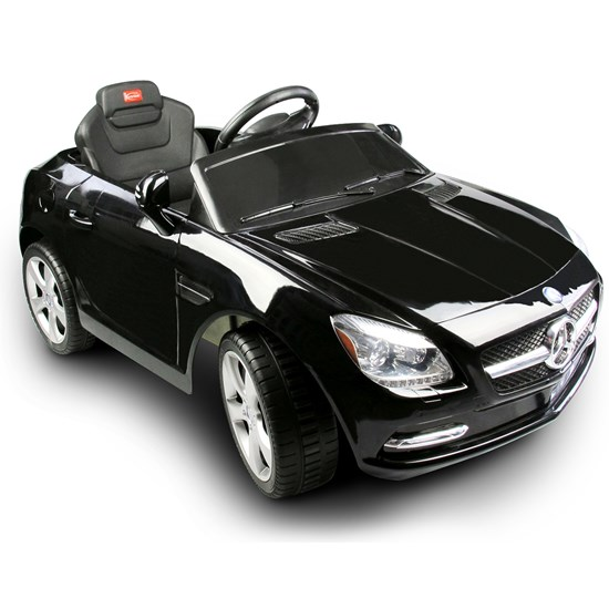 Mercedes Benz SLK 55 AMG, El-bil, Sort