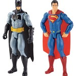 Batman - The dark knight Batman vs Superman, Figur, Batman/Superman, 2-pak