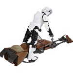 Star Wars E7 Hero Series Figure & Vehicle Biker, Scout & Speeder Bike