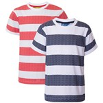 Max Collection T-shirt, 2-pak, Navy Red