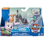 Paw Patrol Rescue Action Pack with friends, Everest & Raindeer Rescue Set
