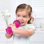 Munchkin Kop, Bite Proof Sippy Cup, 12 mdr., Lyserød