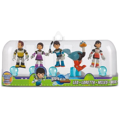 Miles From Tomorrowland Figures, Family, 5-pack
