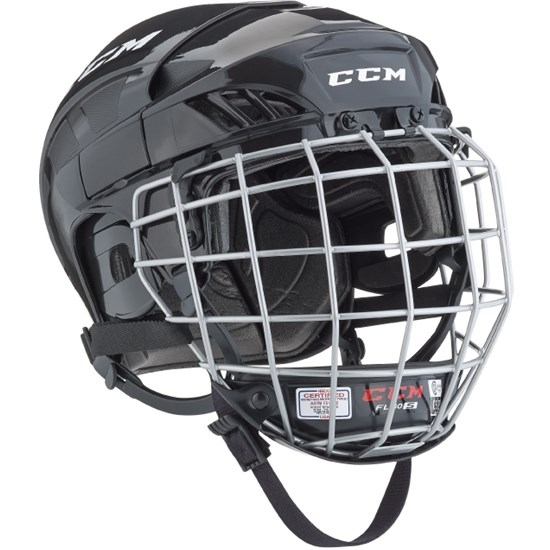 CCM Hockeyhjelm, FitLite 40, Sort, Large