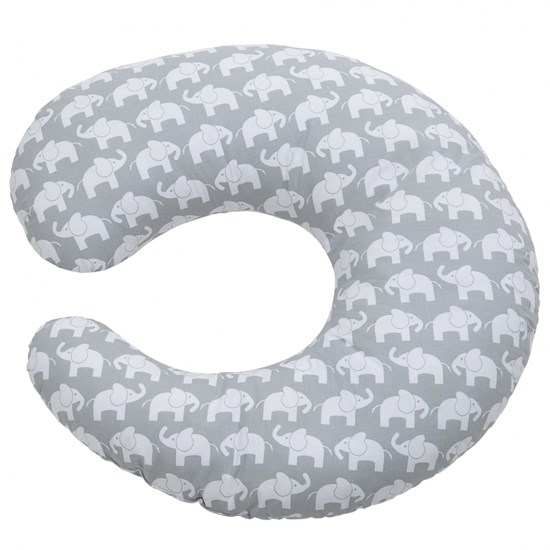 Elefant Nursing Pillow Elephant Grey