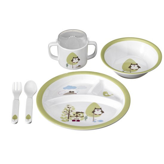 Kids Concept Pumpkin Melamin Set Green
