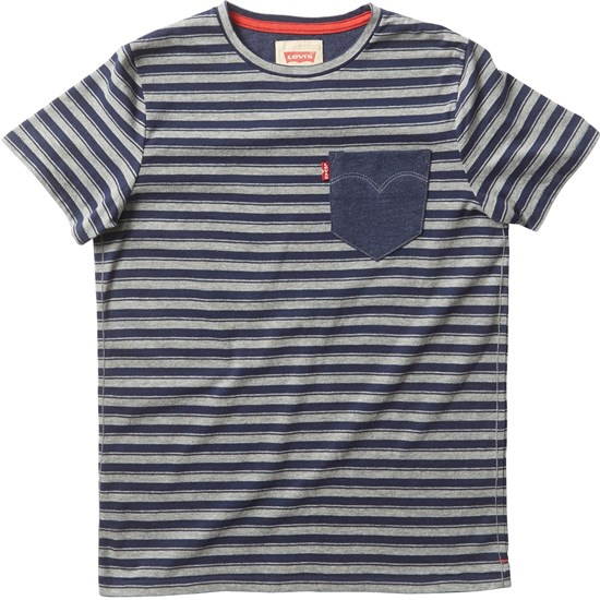 Levis Kids T-shirt, Sunset, Dark Blue