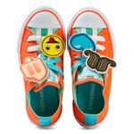 Converse Chuck Taylor All Star Emoji Energy Loophole Sko Orange