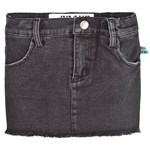 The BRAND Denim Jegging Nederdel Heavy Washed Black
