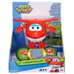 Super Wings Transforming figure, Jett, Röd