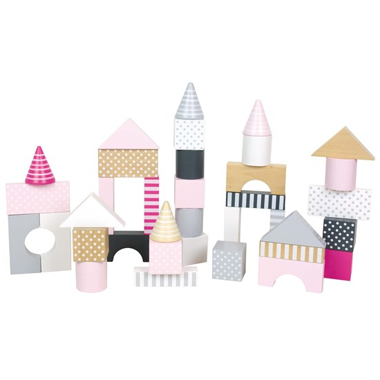 Jabadabado Building Blocks Pink