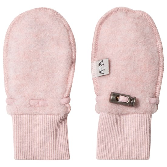 Hust&Claire Wool Mittens Dusty Rose