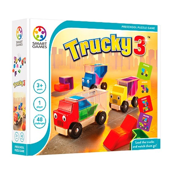Smart Games Trucky 3, puslespil