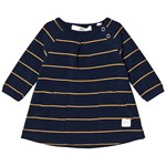 ebbe Kids Winner Dress Dark Navy/Gold Stripe