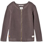 ebbe Kids Snow Knitted Jkt Grey Waffle