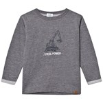 Hust&Claire Car Sweatshirt, Petrol