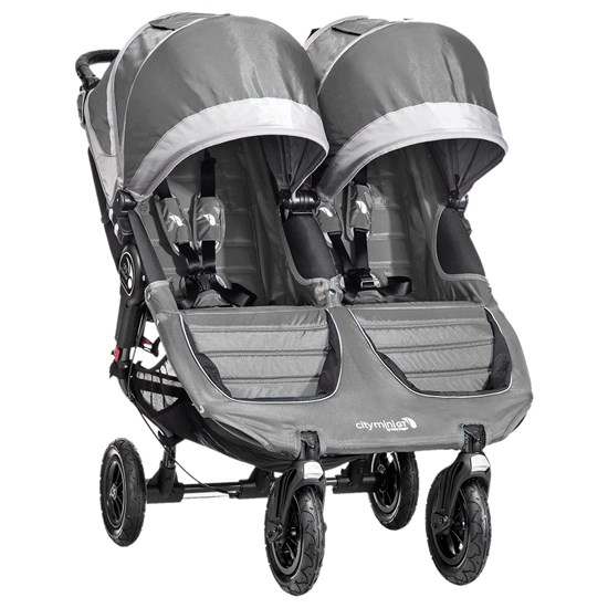 Babyjogger Klapvogn, City Mini GT Double, Steel/Grey