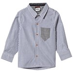 ebbe Kids Hasse Skjorte Blue/White Stripe