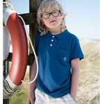 ebbe Kids Peter Polo Dark Ocean Blue