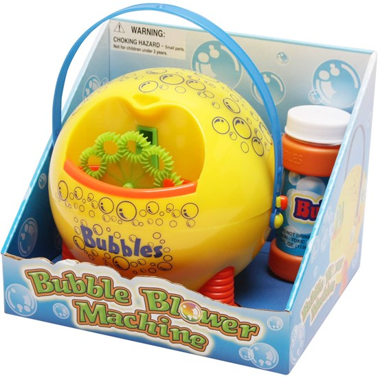 Best Time Toys Bubble Machine (Battery not incl)