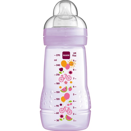 MAM Sutteflaske, Baby Bottle, 270 ml, Lilla