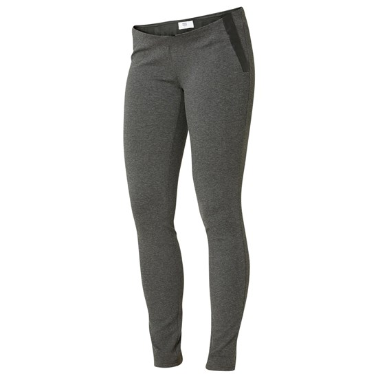 Mamalicious Mlpower Jersey Leggings Medium Grey Melange