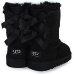 UGG Bailey Bow Suede Boots with Double Ribbon