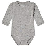 Hust&Claire Baby Body Light Grey Melange