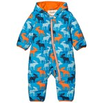 Hatley Blue Moose Puffer Snowsuit