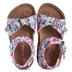 Joules Floral Double Strapped Sandals