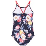 Joules Navy Floral One Piece Swimsuit