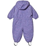 Mikk-Line NYLON Baby suit - AOP Blue ice Purple