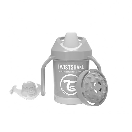 Twistshake Tudkop 230 ml Pastel Grey 4+m