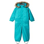 Kuling Winter coverall Snowman Carrebbean Blue