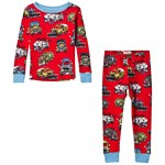 Hatley Monster Trucks Pyjamas Rød