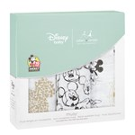 Aden + Anais Musy Squares 3 Pack Mickey´s 90th Hvid/Sort