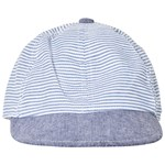 Melton Cap Milky Stripes French Blue
