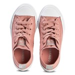 Converse Pink Chuck Taylor All Star OX Junior Trainers