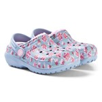 Crocs Classic Forede Graphic Sko Chambray Blue/Carnation