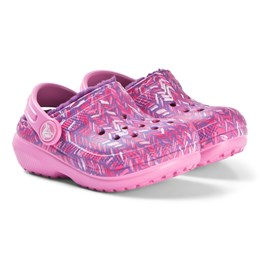 0f1f0c35 Crocs Classic Forede Graphic Sko Party Pink/Amethyst