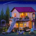 Sylvanian Families City House med Lys